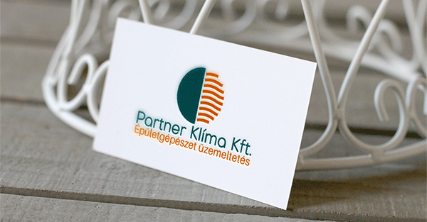 Partner Klíma Kft. logó - Orning Anikó, webdesign, logó- és arculattervezés, honlapkészítés, grafikai munkák, plakát tervezése, felhasználóbarát és reszponzív weboldal tervezése, Pécs, kedvezményes ár