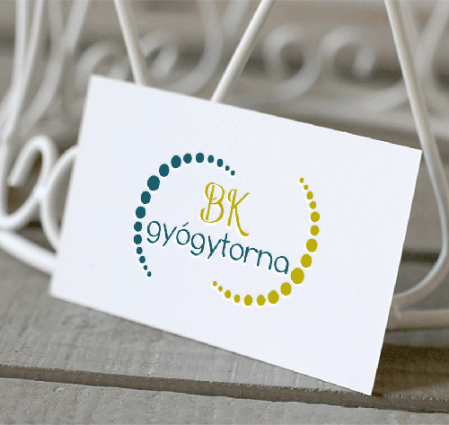 BK gyógytorna logó-Orning Anikó, webdesign, logó- és arculattervezés, honlapkészítés, grafikai munkák, plakát tervezése, felhasználóbarát és reszponzív weboldal tervezése, Pécs, kedvezményes ár