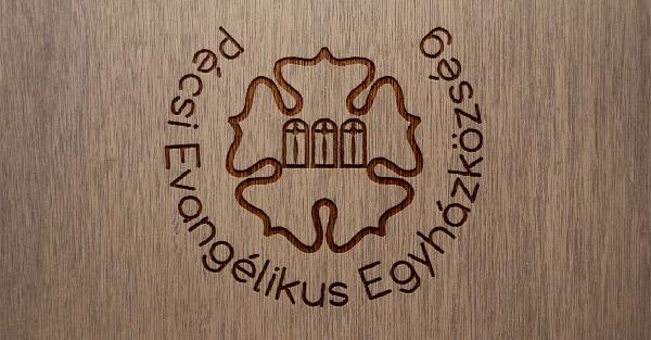 Pécsi Evangélikus Egyházközség logója-Orning Anikó, webdesign, logó- és arculattervezés, honlapkészítés, grafikai munkák, plakát tervezése, felhasználóbarát és reszponzív weboldal tervezése, Pécs, kedvezményes ár