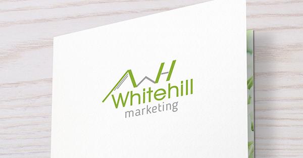 Whitehill marketing logója-Orning Anikó, webdesign, logó- és arculattervezés, honlapkészítés, grafikai munkák, plakát tervezése, felhasználóbarát és reszponzív weboldal tervezése, Pécs, kedvezményes ár