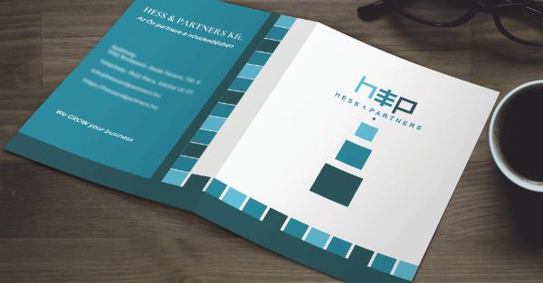 Hess & Partners mappa-Orning Anikó, webdesign, logó- és arculattervezés, honlapkészítés, grafikai munkák, plakát tervezése, felhasználóbarát és reszponzív weboldal tervezése, Pécs, kedvezményes ár
